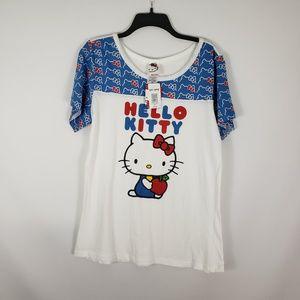 HOT TOPIC HELLO KITTY SANRI Plus Size T-shirt Top